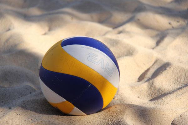 Beachvolleyball-Felder