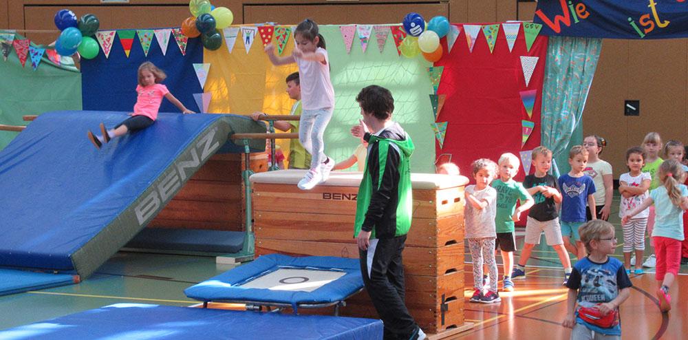 Kinder- und Vorschulturnen